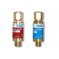 """Vlamdover RF53N brandbaar gas 3/8""""L Witt"""