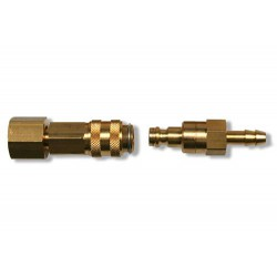 """Snelkoppeling argon 1/4""""R inw 6mm TYPE 21"""