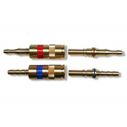 Snelkoppeling NKTT brandbaar gas 4mm IBEDA