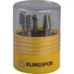 KLINGSPOR HARDMETAAL STIFTFREES HF100INOX 9,6X6 K 11
