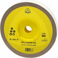 KLINGSPOR SCHUURROL, LINNEN   KL 385 JF 25X50000 K 120